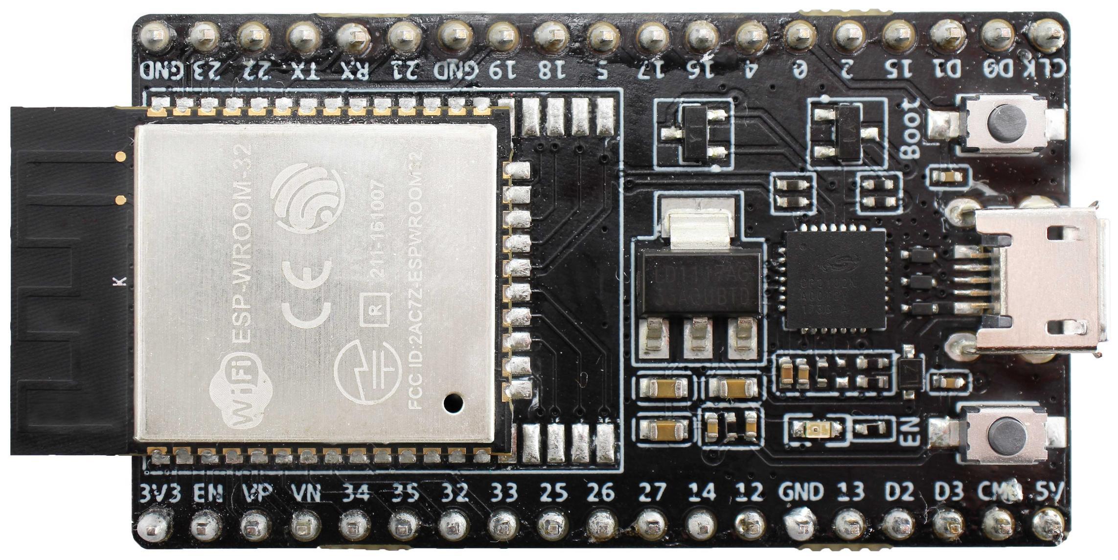 ESP32-DevKitC | AWS Qualified